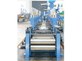 Carbon steel pipe welding line
